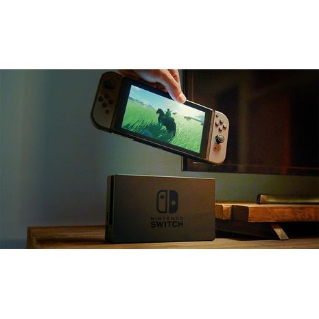 console nintendo switch grise inclus 1 jeu. Black Bedroom Furniture Sets. Home Design Ideas